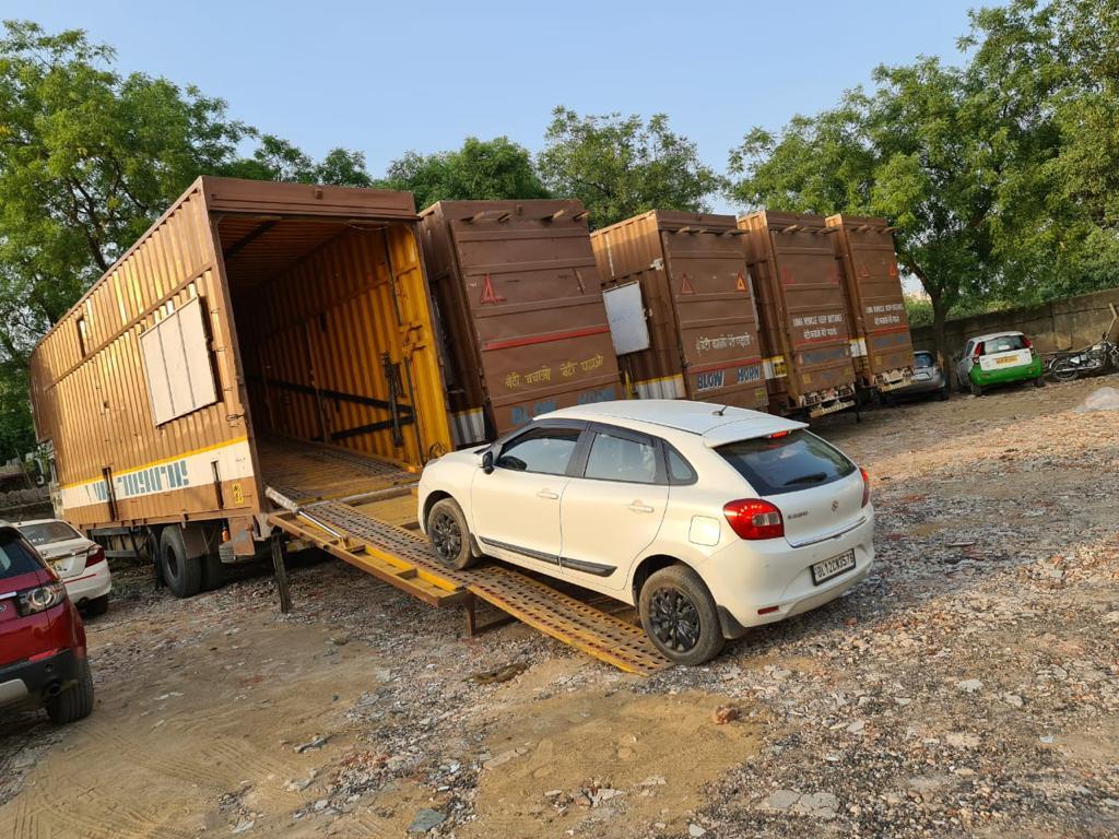 Car transport in Pune